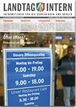 Deckblatt von Landtag Intern Ausgabe 1 vom 23.01.2018