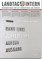 Deckblatt von Landtag Intern Ausgabe 6 vom 19.06.2018