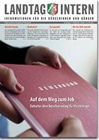 Deckblatt von Landtag Intern Ausgabe 3 vom 26.03.2019