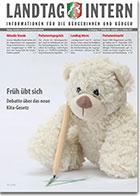 Deckblatt von Landtag Intern Ausgabe 8 vom 15.10.2019