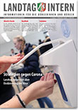Deckblatt von Landtag Intern Ausgabe 2 vom 17.03.2020