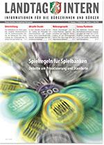 Deckblatt von Landtag Intern Ausgabe 4 vom 03.06.2020