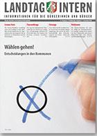 Deckblatt von Landtag Intern Ausgabe 6 vom 01.09.2020