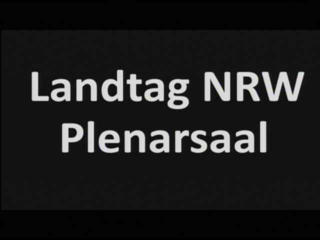 Aktuelles Bild vom PLENARSAAL DES LANDTAGS NRW / DUESSELDORF